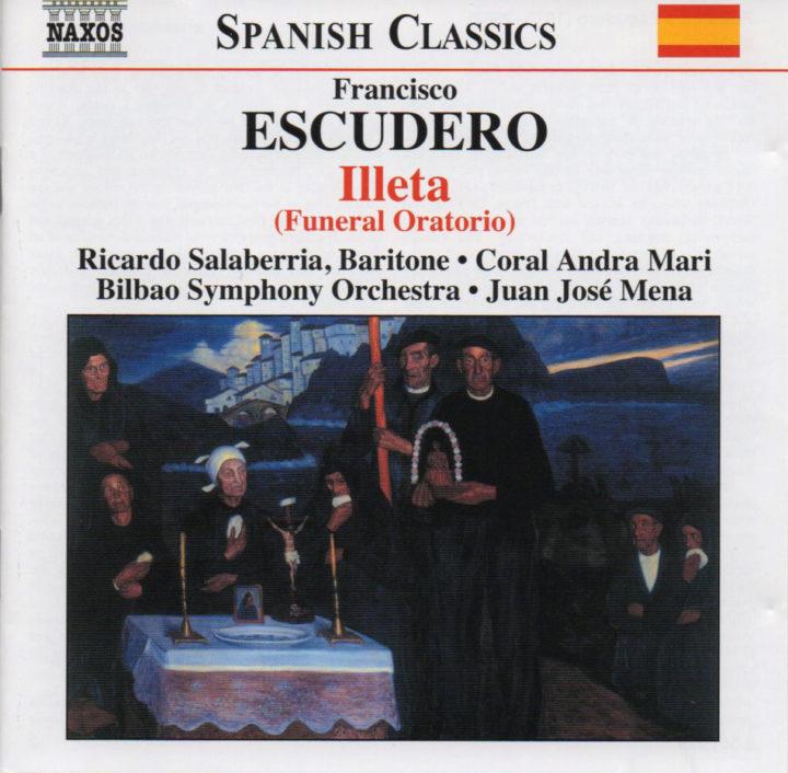 FRANCISCO ESCUDERO   ILLETA (Funeral oratorio)
