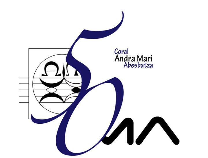 50. urteurreneko logotipoa